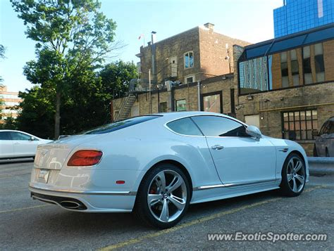 bentley canada bentley continental spotted in ontario canada on