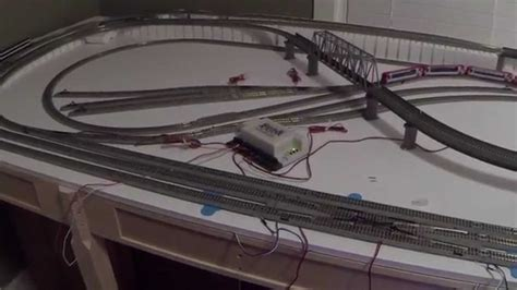 kato layout video kato unitrack dcc wiring for small layout n scale part ii