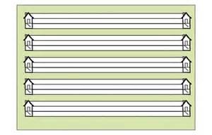 lineatur klasse 1 mit haus mollenkopf lehrershop schreiblernheft 0 brunnen