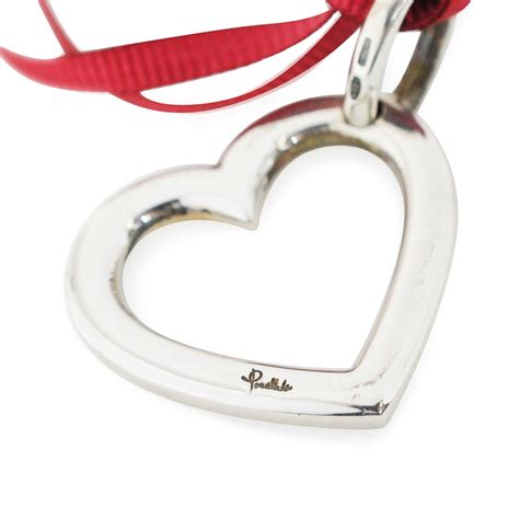 pomellato charms second pomellato charm with pink ribbon the