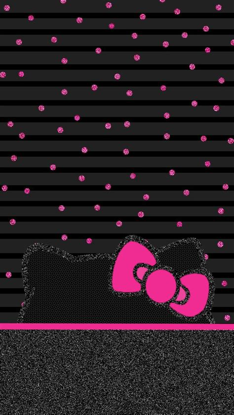 wallpaper hello kitty black and white wallpaper hello kitty black red and pink sanrio friends