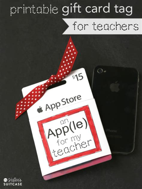 printable itunes gift card amazon 10 easy printable teacher gift ideas faithful provisions