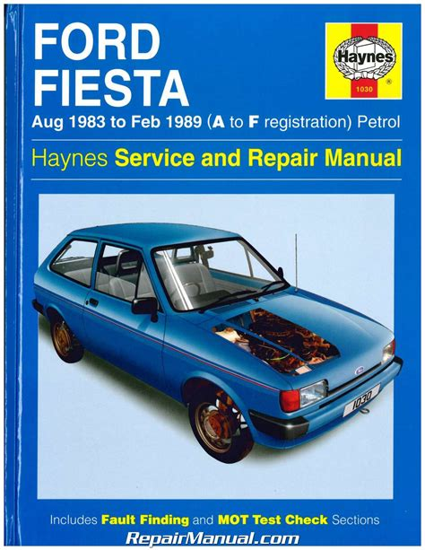 haynes ford courier pick up 1972 1982 auto repair manual haynes 1983 1989 ford fiesta auto repair manual
