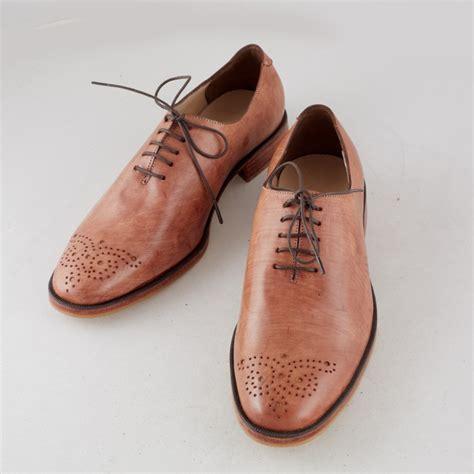 light brown oxford shoes vintage light brown wholecut oxford efaisto
