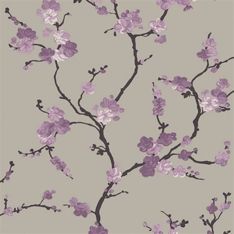 mercutio wallpaper plum grey plum wallpaper