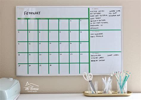 make your own erase calendar create your own erase calendar with washi the
