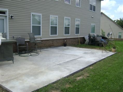 Poured Concrete Patio Designs 29 Best Images About Patio On