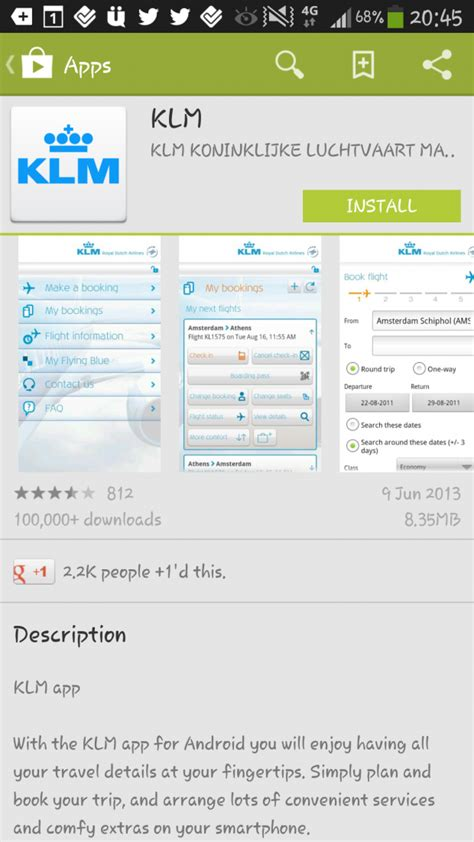 klm mobile book flights on the go with royal airline klm mobile