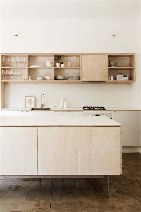 Plywood Kitchen Cabinet | plywood kitchen on pinterest