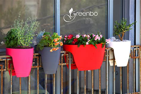 greenbo railing planters integrate ecology with