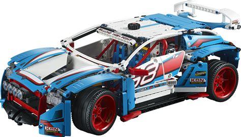 lego technic car lego technic 2018 rally car 42077 truck 42075 und