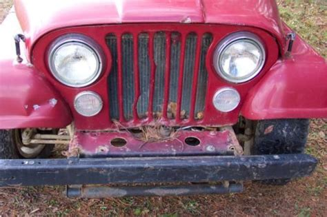 Used Jeep Parts In Pa Sell Used 1984 Jeep Cj7 Cj 7 For Parts Runs And Drives In