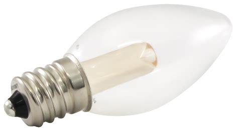outdoor candelabra led light bulbs dimmable led c7 light bulbs ideal for string lights