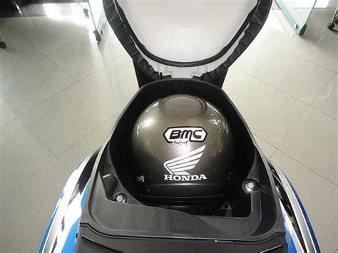 Bagasi Depan Motor Bebek bagasi lega kapasitas tangki bbm tren skutik