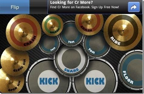tutorial main real drum android free app to play drums on android real drum