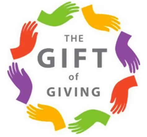 The Gift Of Giving by Charitable Contributions