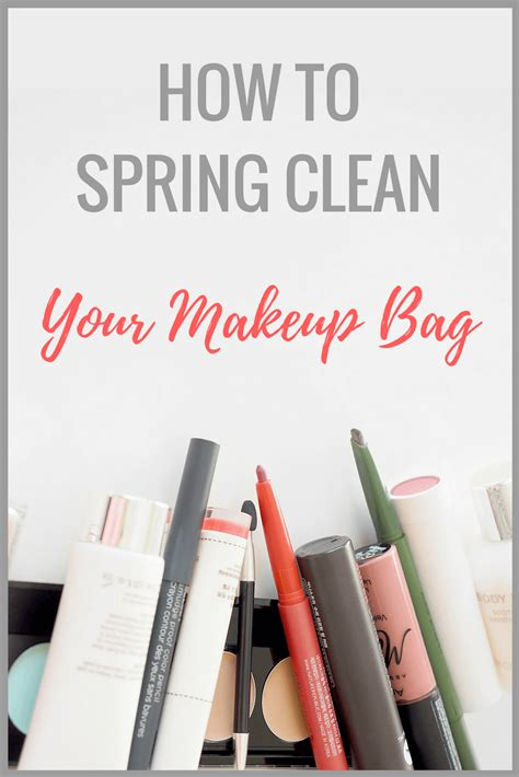 how to spring clean how to spring clean your makeup stash in 5 easy steps