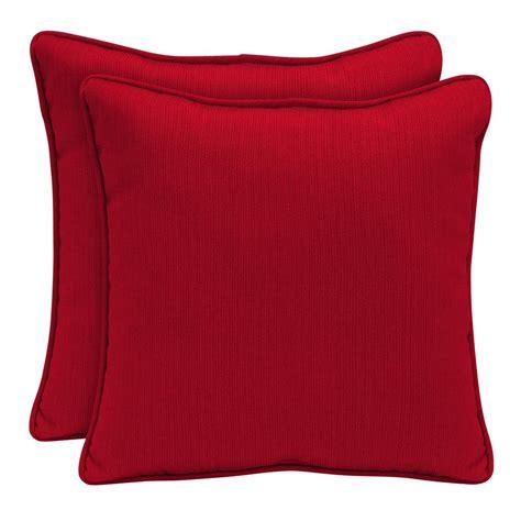home decorators outdoor pillows home decorators collection sunbrella spectrum cherry