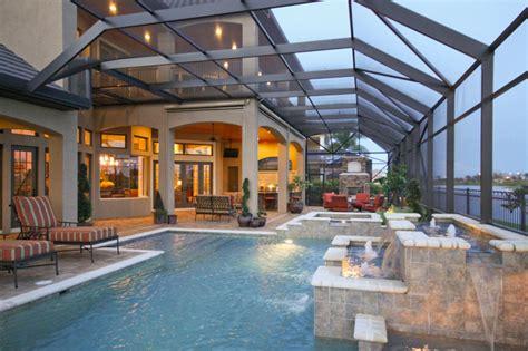 pools patios and porches pools patios porches mediterranean pool orlando by christopher burton homes inc