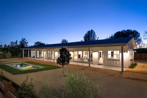 Nicholas Lee Architect healdsburg modern ranch