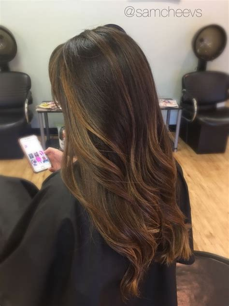 light brown highlights on black hair wedding hair hair bridesmaid hair color to