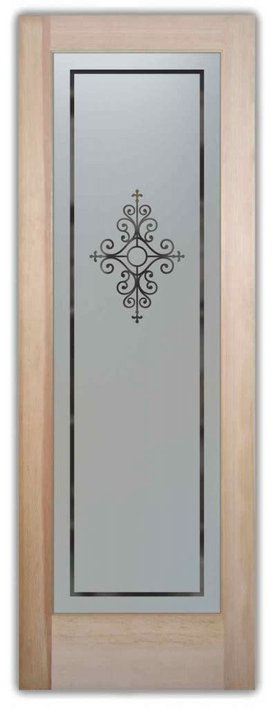 Iron Pantry Door by Wrought Iron Designs Sans Soucie Glass