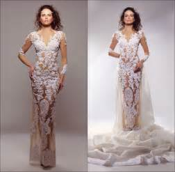fitted wedding dresses fitted sleeve wedding dress