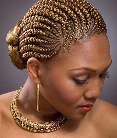 large cornrow bun styles cornrows into a bun 4687 mediabin