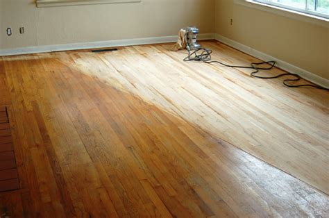 should i refinish own hardwood floors should i try and