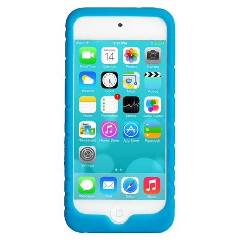 Ipod Accessories 2 by Ipod Touch 5 Blue Athletic Silicone
