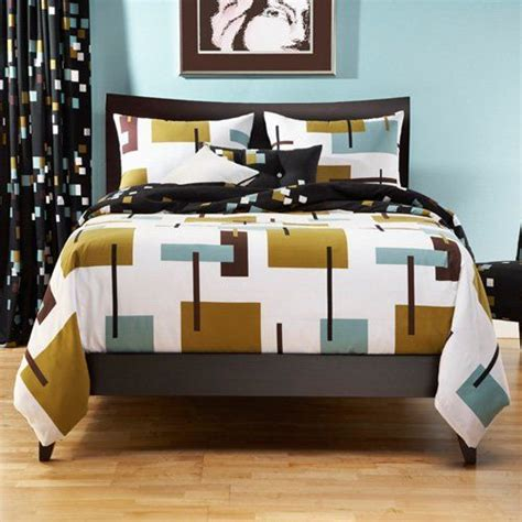 mid century modern bedding sis covers reconstruction duvet set www