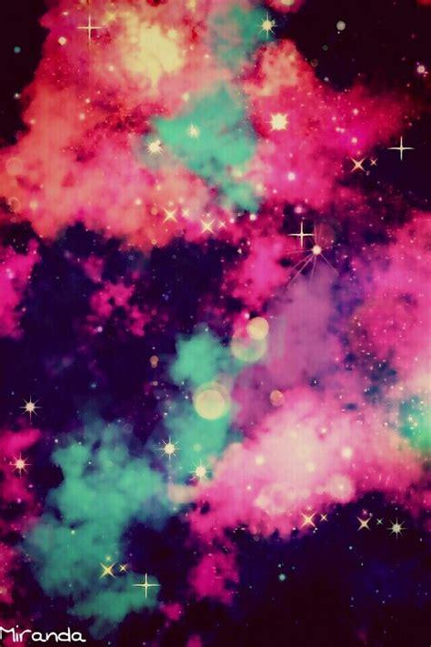 pink blue purple galaxy wallpaper image