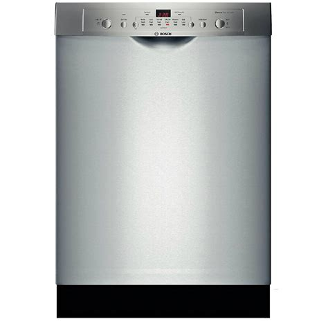 "Bosch SHE3AR75UC Ascenta 24"" Built In Dishwasher   Stainless Steel"