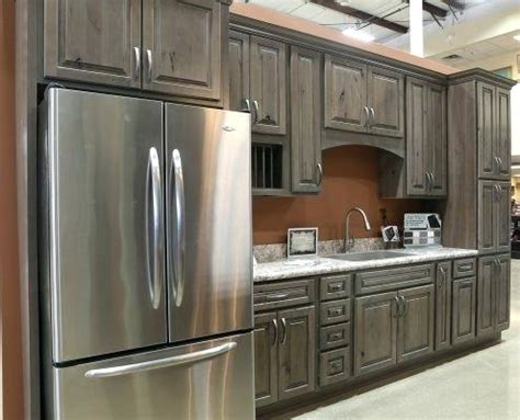 Kitchen Cabinets Cherry In Cannon Grey Door Styles
