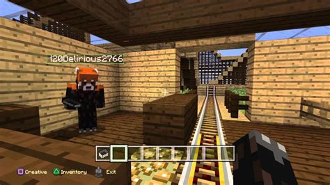 ps4 themes minecraft minecraft ps4 lets build a theme park 10 youtube