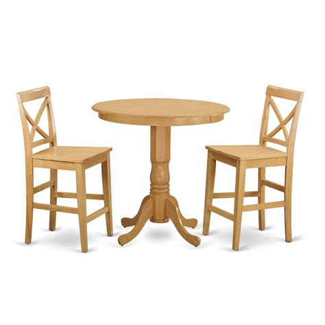 3 Pc Dining Table Set 3 Pc Dining Counter Height Set Dining Table And 2 Bar Stools