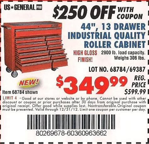 Cabinet Coupon by Harbor Freight Tool Cabinet Inspiration Harbor Freight