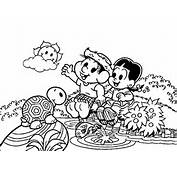 Chico Bento Colouring Pages