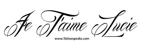 je t aime tattoo je t aime designs 5