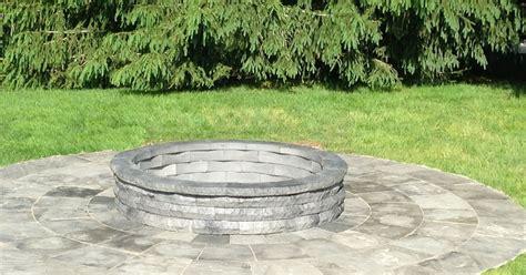 pit diameter builderscrete cellulose products custom pit patio 6