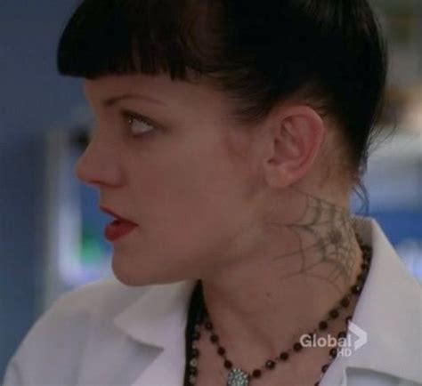 pauley perrette tattoos abby neck pauley perrette