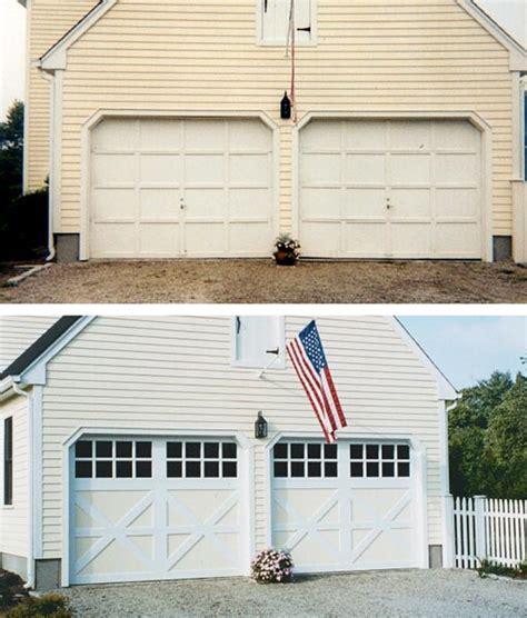 Before And After Garage Door Portfolio Consolidated Consolidated Overhead Door