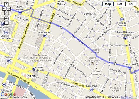 marais map where is the marais district of map