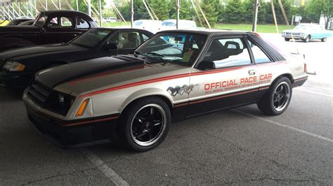 1979 ford mustang pace car 1979 ford mustang pace car edition w244 indy 2015