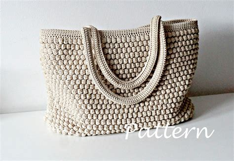 pattern tote bag crochet crochet pattern crochet bag pattern tote pattern crochet purse