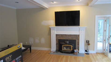 install tv above fireplace backuperleading