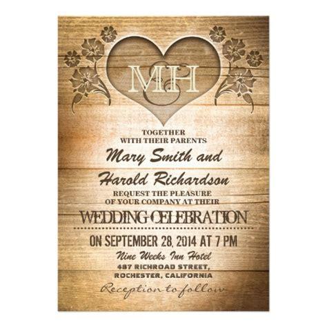 rustic wood country wedding invitations 5 quot x 7 quot invitation card zazzle