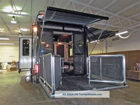 Heartland Rv Floor Plans 2013 heartland cyclone 5th wheel toy hauler w patio