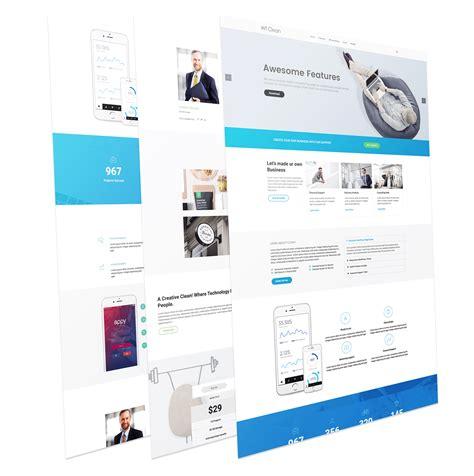 business wordpress theme wt clean