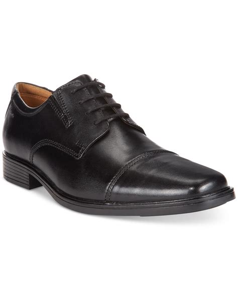 dress shoes clarks s tilden cap toe dress shoes in black for